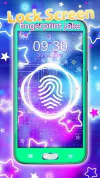 Lock Screen – Fingerprint Joke apk screenshot