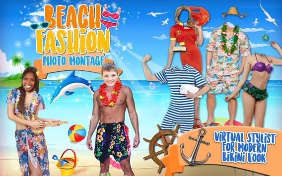 Beach Fashion Photo Editor apk screenshot