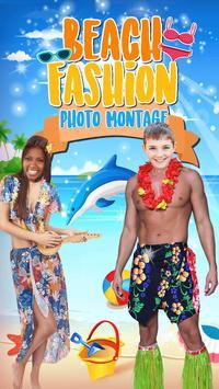 Beach Fashion Photo Editor poster