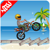 Beach Bike Stunt Rider 2017 icon