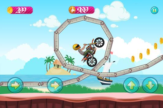 Beach Bike Stunt Rider 2017 screenshot 3