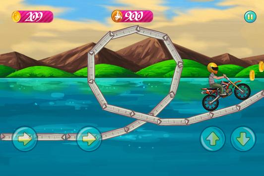 Beach Bike Stunt Rider 2017 apk screenshot