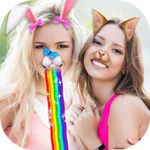 Animal Face Filters & Stickers icon