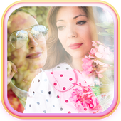 Blend Pictures Collage App icon