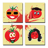 La Tomatina Photo Cards icon