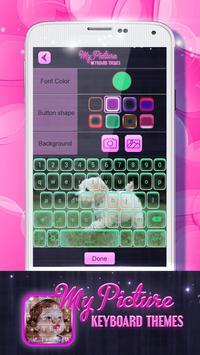 My Picture Keyboard Themes screenshot 2