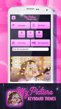 My Picture Keyboard Themes screenshot 5