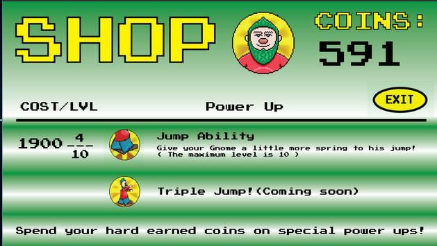 Gnome Runner(BETA) - Infinite Platformer / Runner (Unreleased) apk screenshot