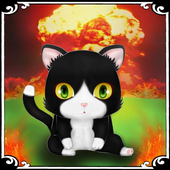 Explody Cat 3D: Angry Kittens vs Angry Birds icon