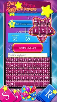 Cute Star Keyboard Designs screenshot 3