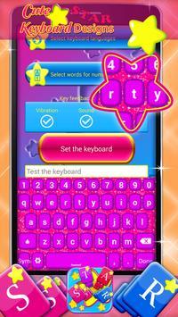 Cute Star Keyboard Designs screenshot 5
