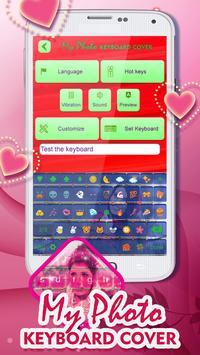 My Photo Keyboard Cover screenshot 3