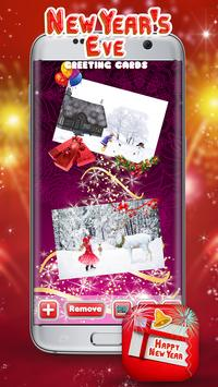 New Year's Eve Greeting Cards poster