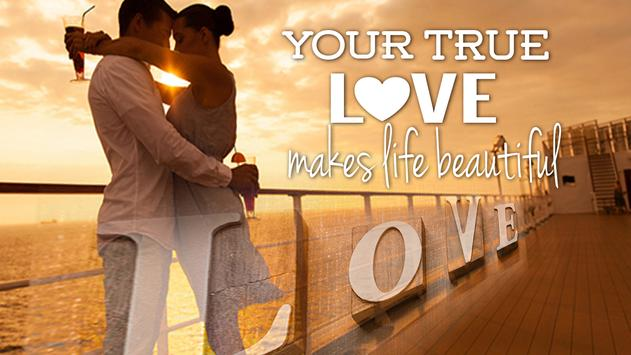 Beautiful Phrases of Love Photo Editor poster