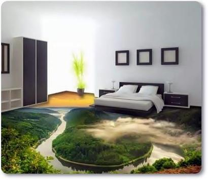 Beautiful 3D Flooring Designs Ideas screenshot 6