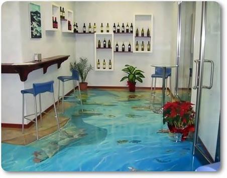 Beautiful 3D Flooring Designs Ideas screenshot 1