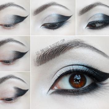 Beautiful make up tutorial poster