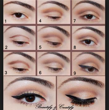Beautiful make up tutorial screenshot 1