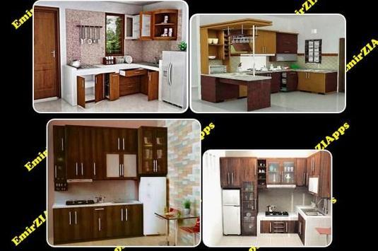 Beautiful Minimalist Creative Kitchen poster