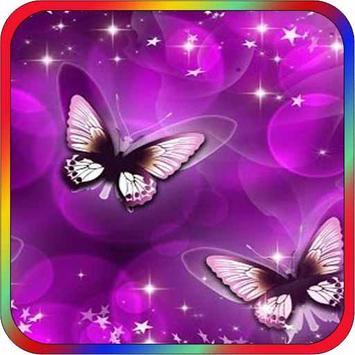 Beautiful Butterflies Wallpaper poster