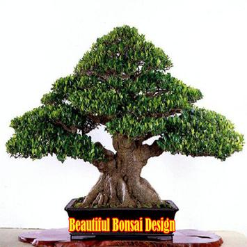 Beautiful Bonsai Design poster