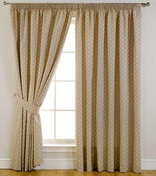 Beautiful Curtain Design poster