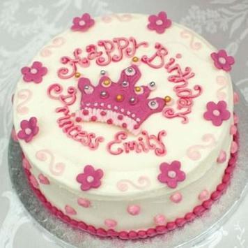 Beautiful Design Birthday Cake poster