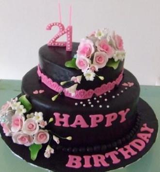 Beautiful Design Birthday Cake screenshot 2