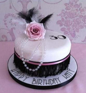 Beautiful Design Birthday Cake screenshot 4