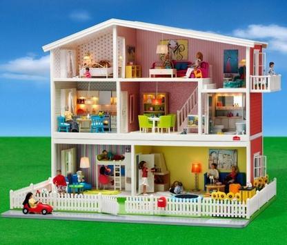 Beautiful Doll House Design screenshot 6