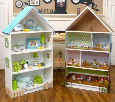 Beautiful Doll House Design poster