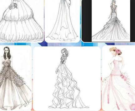 Beautiful Dress Sketch screenshot 1