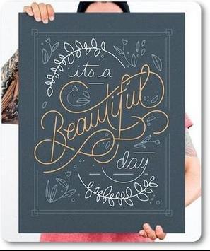 Beautiful Hand Lettering Desings Ideas screenshot 5