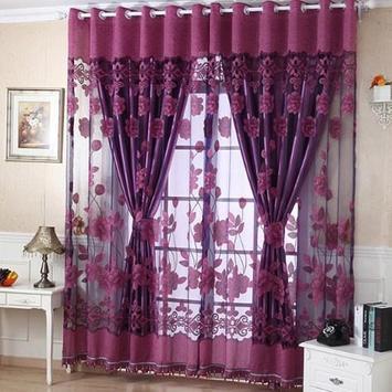 Beautiful Home Curtain Design poster