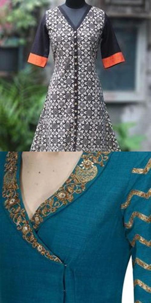 Beautiful Stylish Neck Designs For Kurta 2018 For Android Apk Download