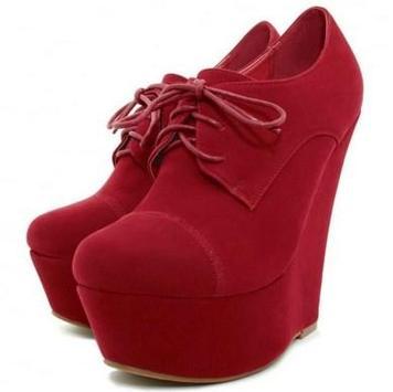 Beautiful Wedges Shoes Ideas screenshot 5