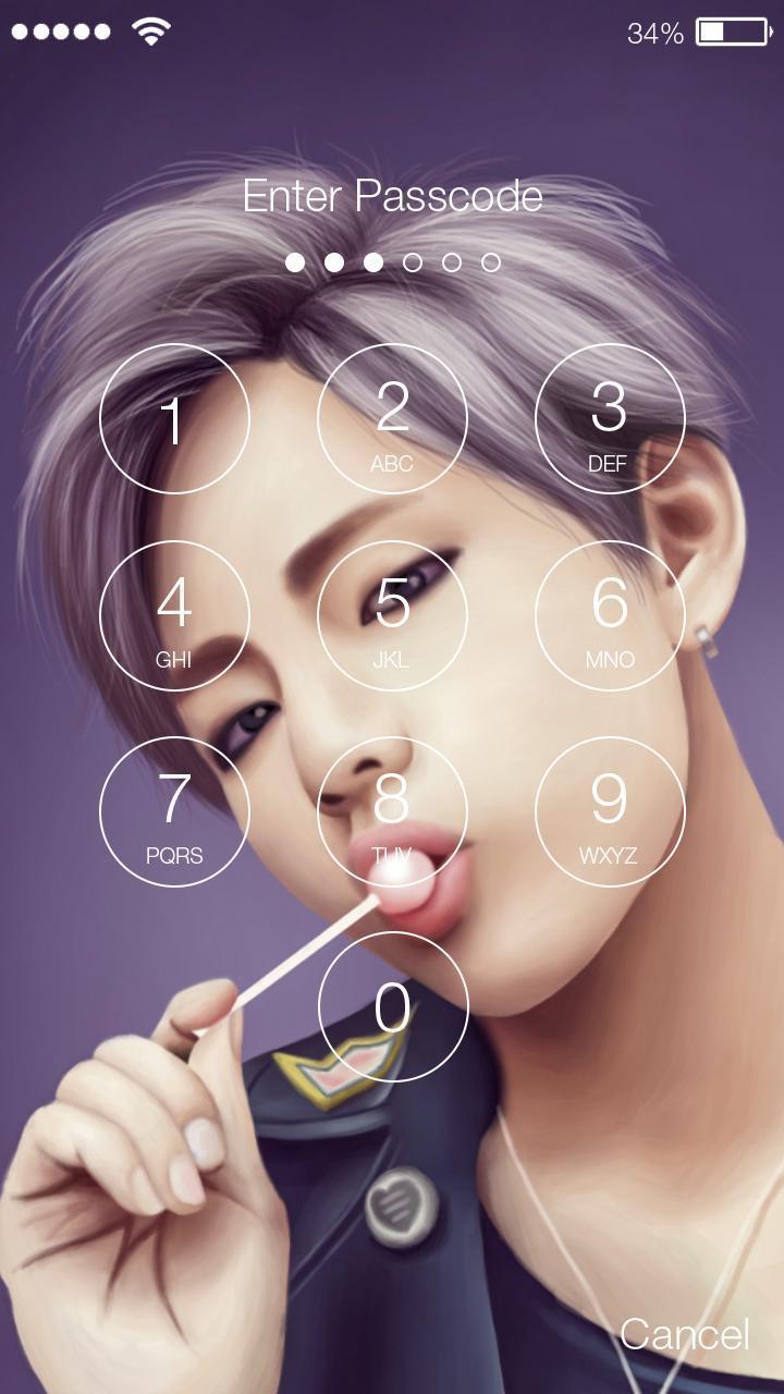 Bts Cute Kpop Music Wallpaper Screen Lock For Android Apk