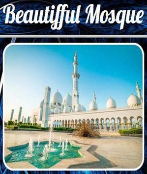 Beautifful Mosque poster