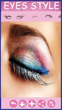 Beauty makeup editor photo poster