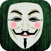 Anonymous Mask Photo Maker icon