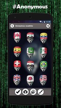 Anonymous Mask Photo Maker apk screenshot