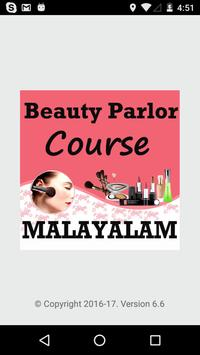 Beauty Parlor Course MALAYALAM poster