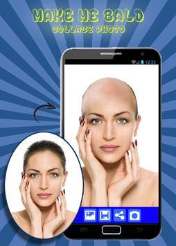 Make Me Bald - Collage Photo apk screenshot