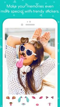 Selfies Photo Studio with Filters, Stickers, GIF poster