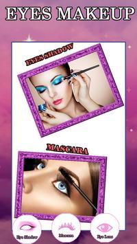 virtual makeup photo editor poster