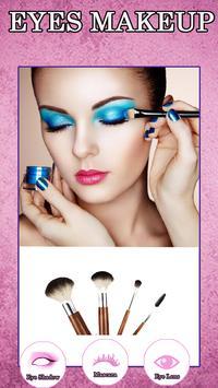 Virtual makeup beauty poster