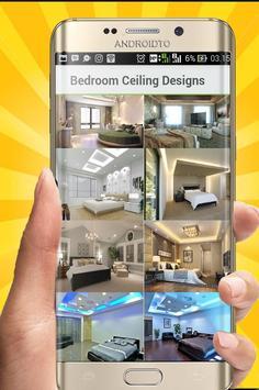 Bedroom Ceiling Pattern poster