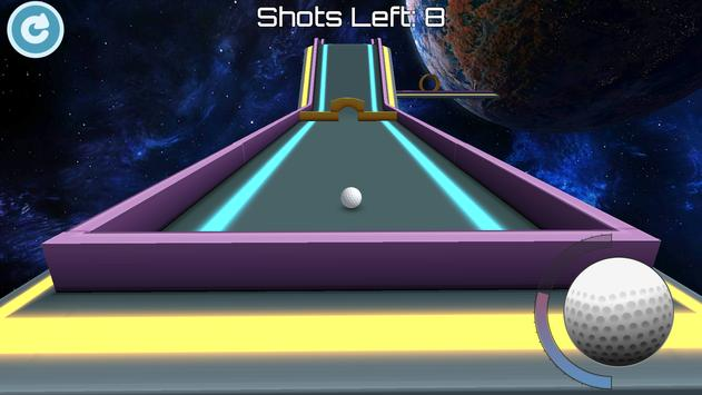 Mini Golf 3D: Space apk screenshot