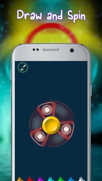 Draw and Spin - Fidget Spinner screenshot 1