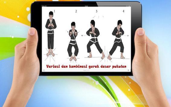 Learning Silat Basic Technique screenshot 2